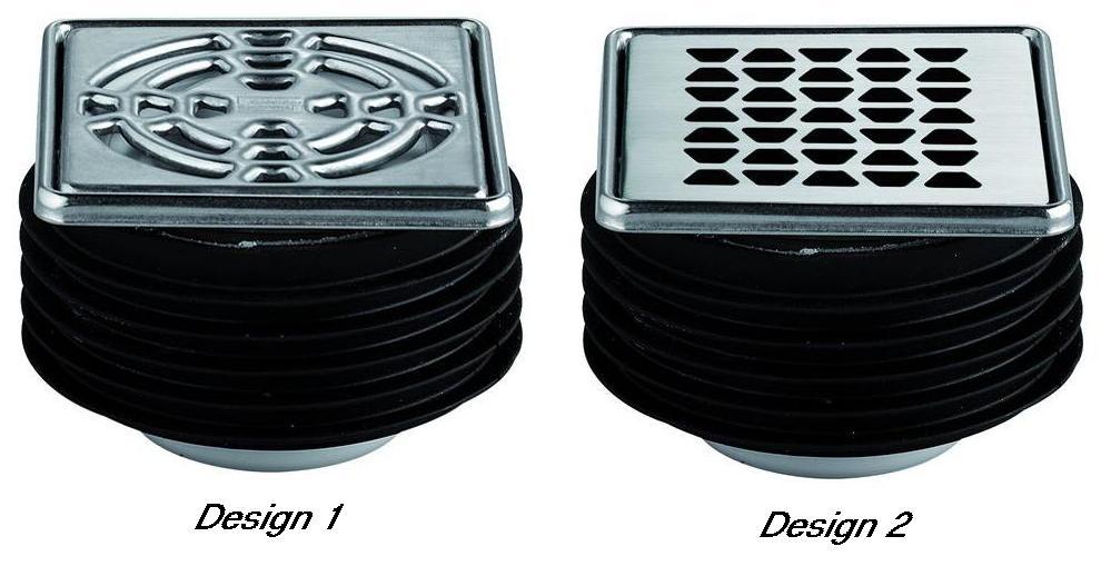 kit d 39 vacuation pour douche l 39 italienne sortie horizontale kerdi drain. Black Bedroom Furniture Sets. Home Design Ideas