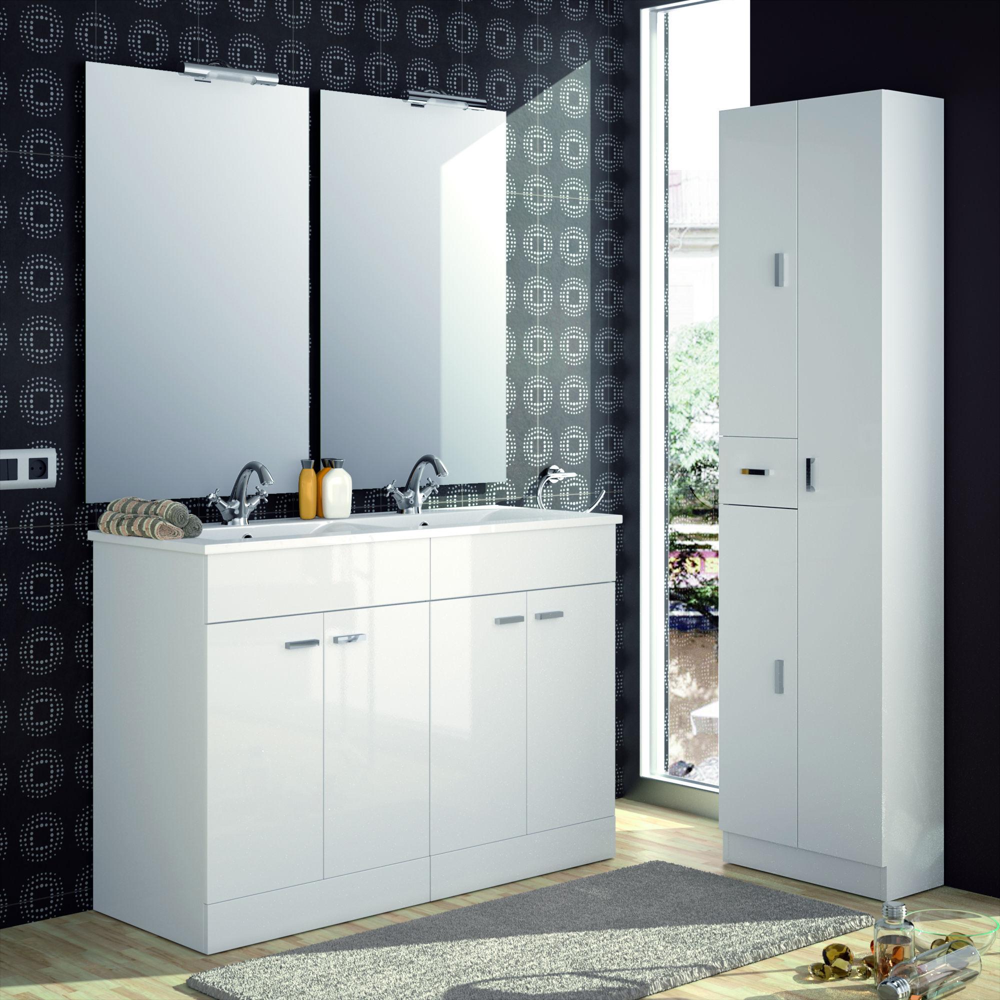 Hauteur lavabo salle de bain - Amazon meuble salle de bain ...