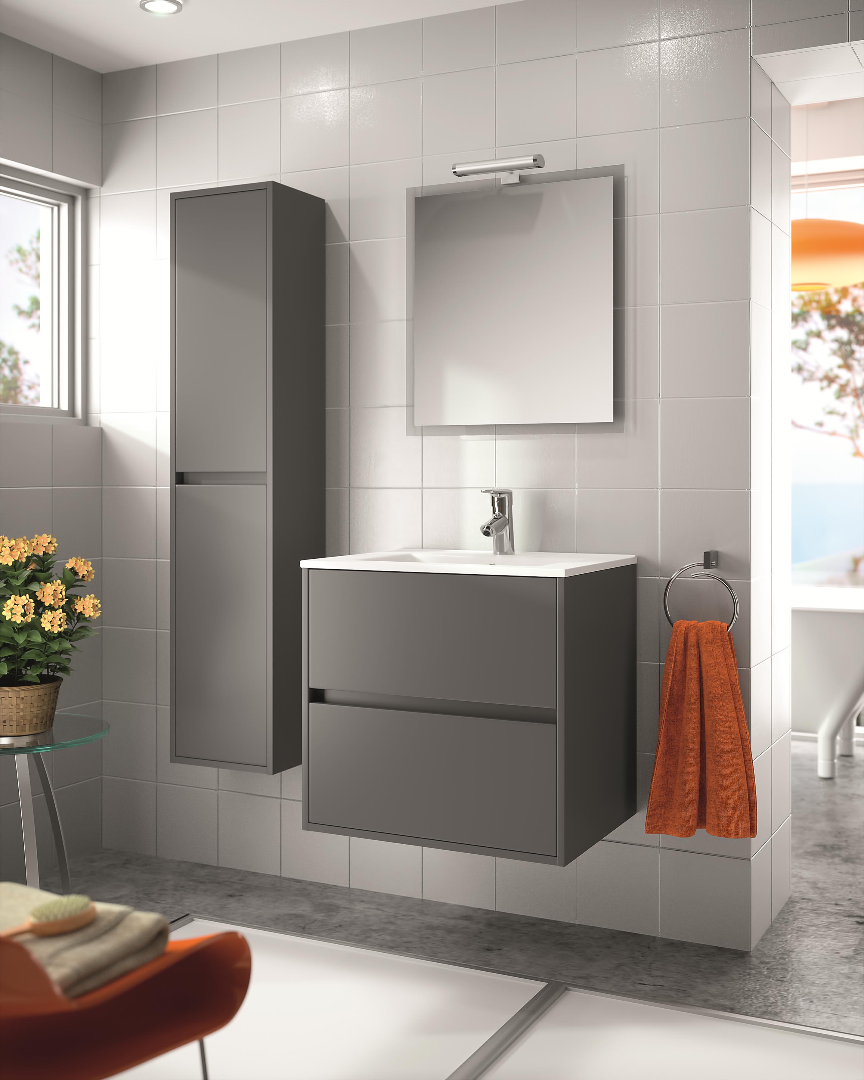 Ensemble meuble noja 700 - Panneau acrylique salle de bain pas cher ...
