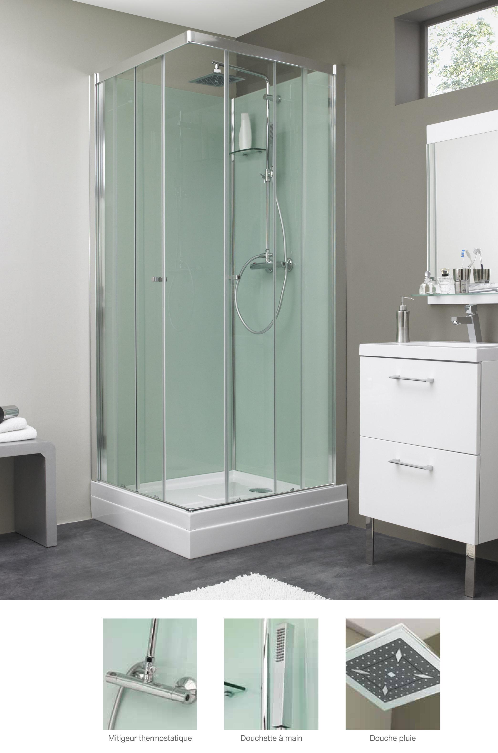 cabine de douche eden c. Black Bedroom Furniture Sets. Home Design Ideas