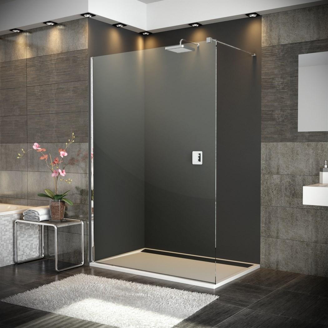 Paroi de douche fixe walk in verre paisseur 8 mm for Paroi de douche originale