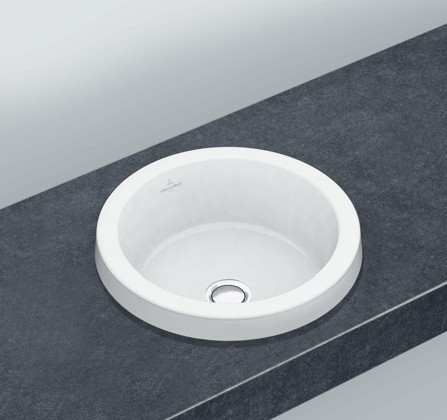 Vasque encastrer ronde architectura for Catalogue villeroy et boch carrelage