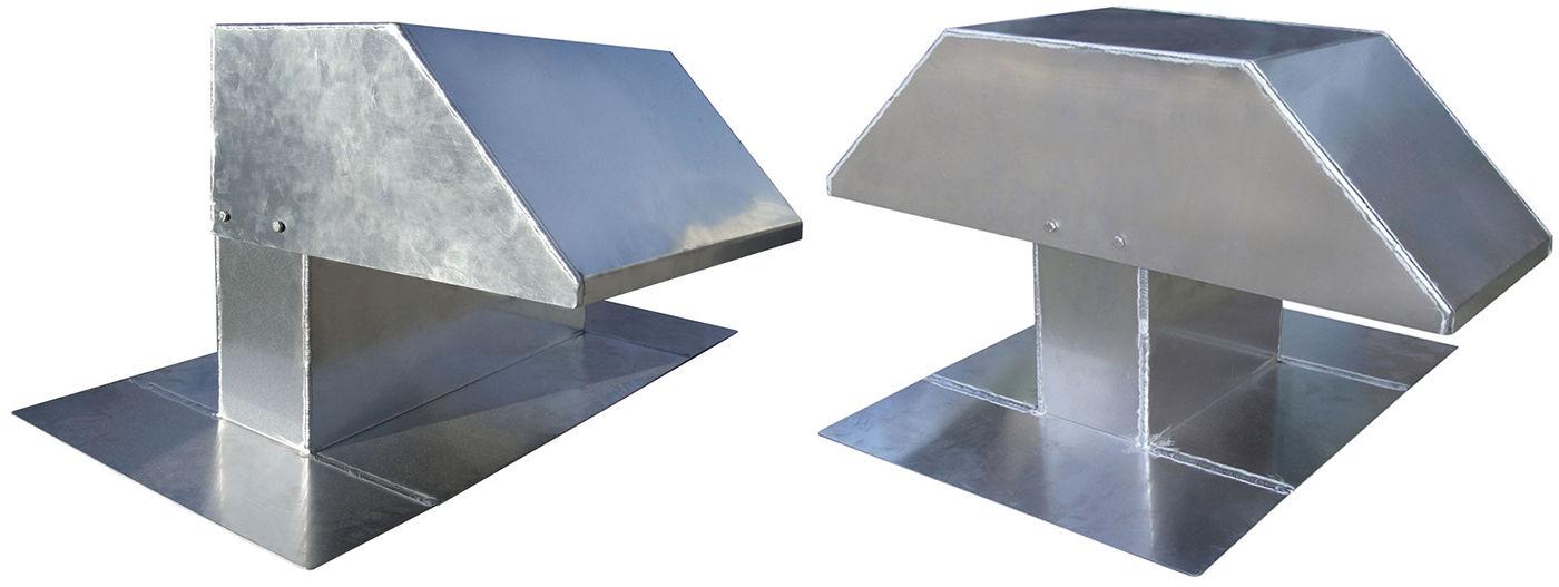 Col de cygne / crosse sortie de toiture