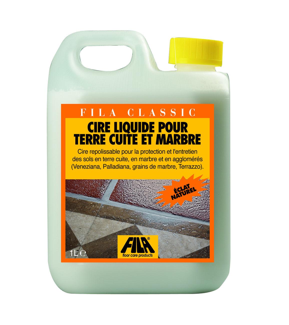 Cire liquide cologique fila classic for Fila produit carrelage
