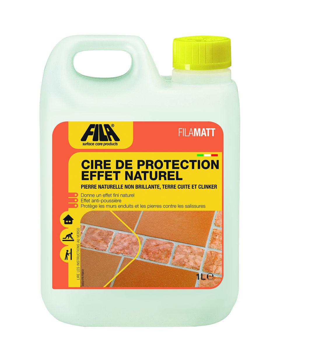 Cire de protection effet naturel filamatt for Fila produit carrelage