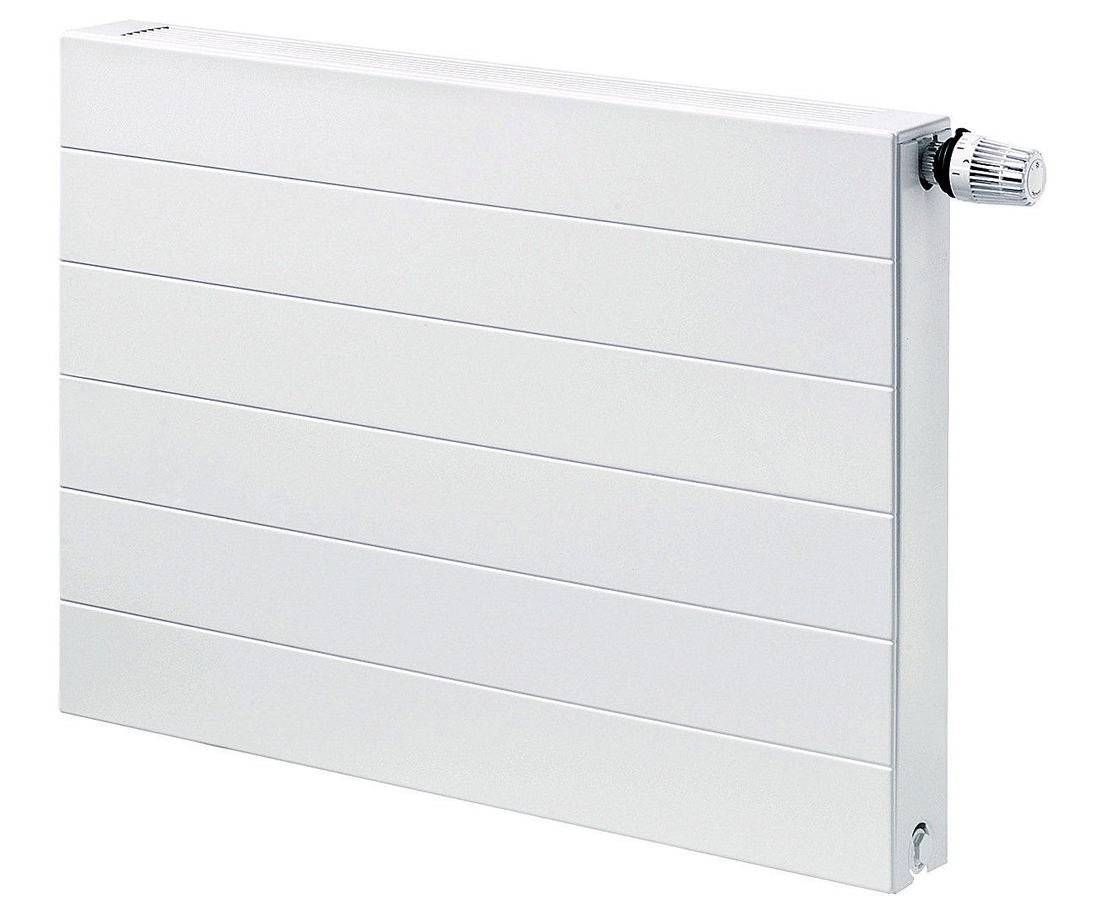 radiateur panneau acier planar style 2 lames 2 rang es d 39 ailettes 22. Black Bedroom Furniture Sets. Home Design Ideas