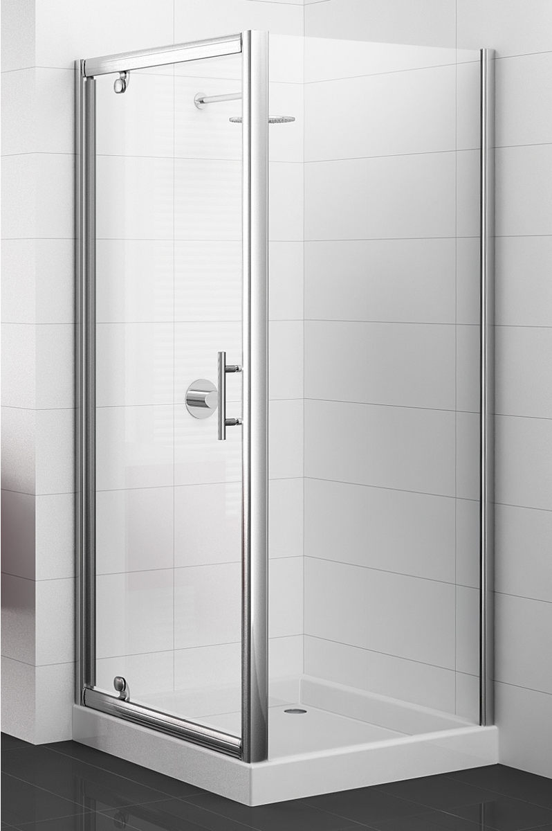 paroi de douche fixe cadree adesio nouvelle gamme